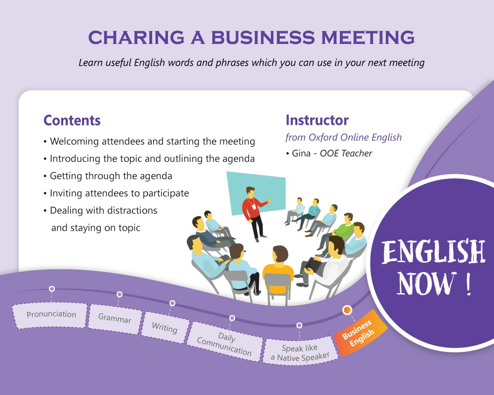 Business English - Chairing a Business Meeting
