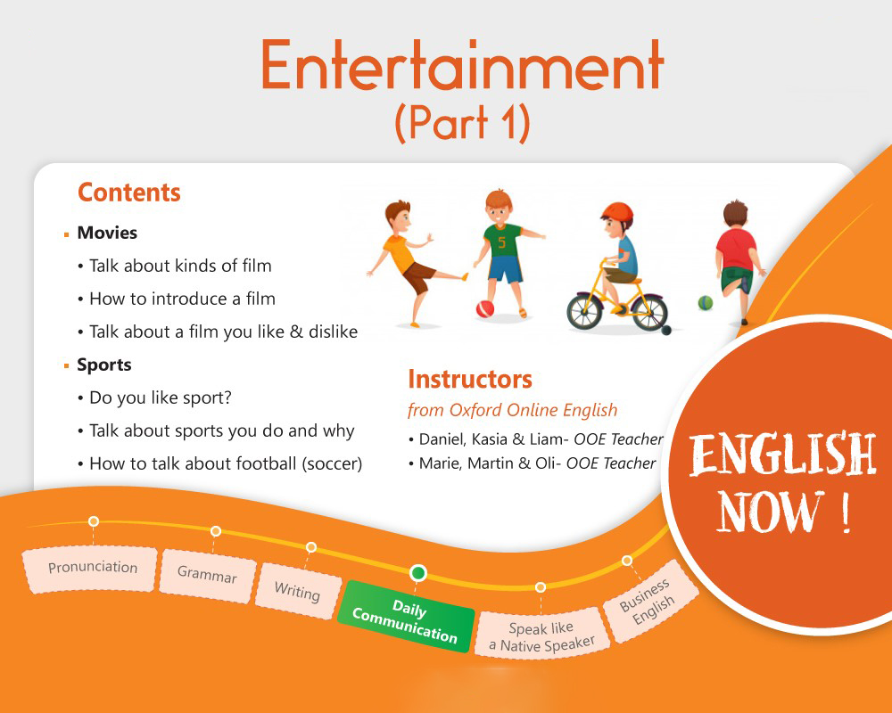 Daily Communication - Entertainment (Part 1)
