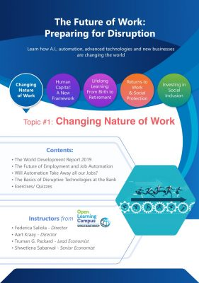 The Future of Work- Preparing for Disruption