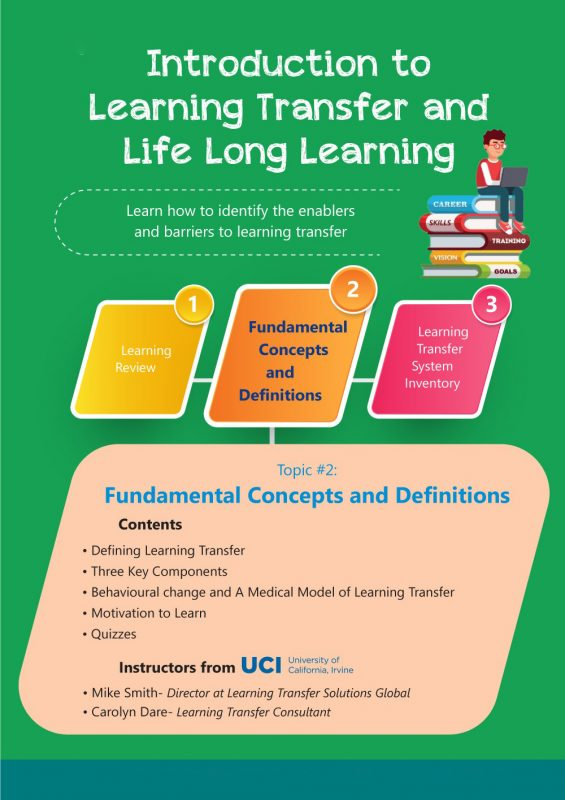 Learning transfer and Life long learning