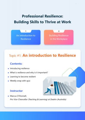 Building Skills to Thrive at Work