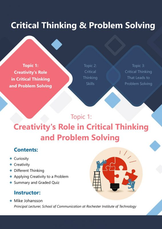 13- Critical Thinking & Problem Solving