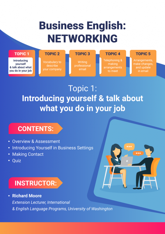 14- Business English- Networking
