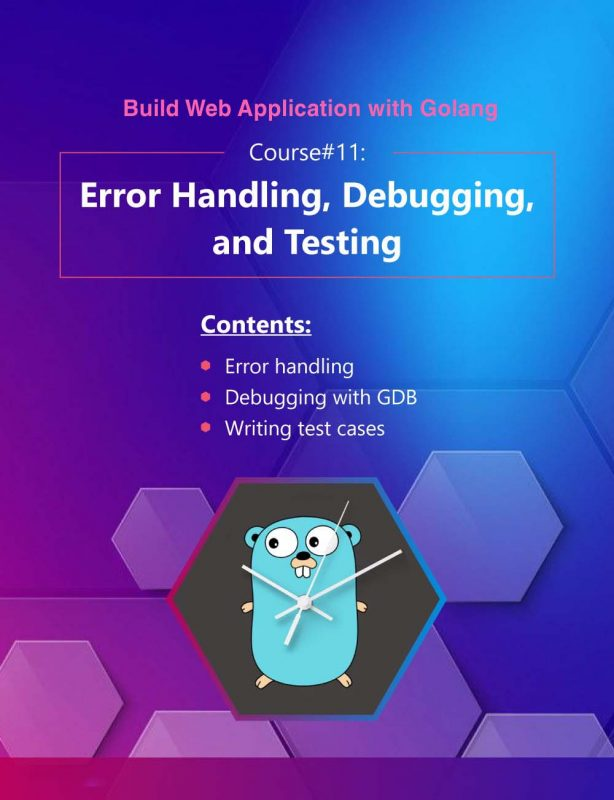 20- Build Web Application with Golang 11