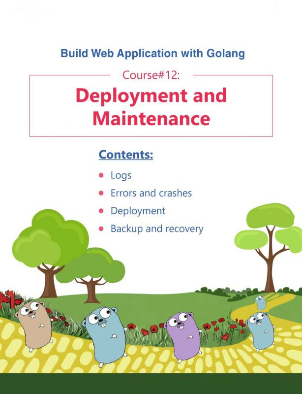 20- Build Web Application with Golang 12