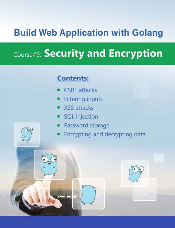20- Build Web Application with Golang 9